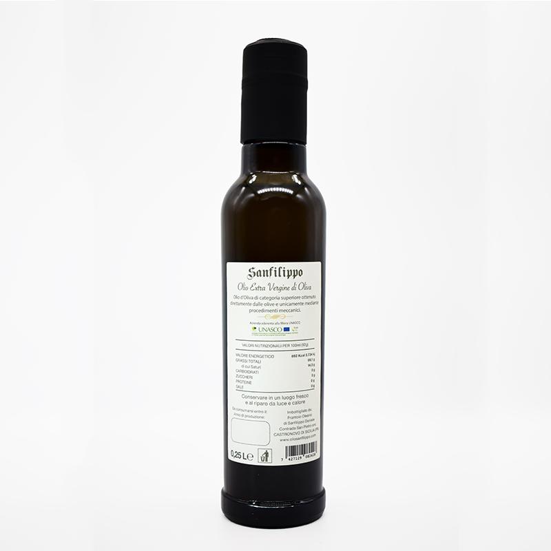 Olio extravergine di oliva medium fruity fruttato medio 0,25 fronte