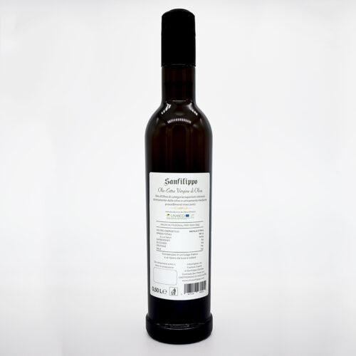 Olio extravergine di oliva medium fruity fruttato medio 0,50 retro