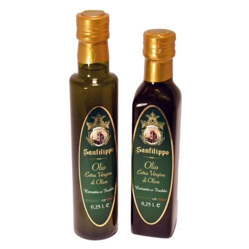 olio extravergine di oliva 0,25 sanfilippo