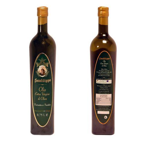 olio extravergine di oliva 0,75