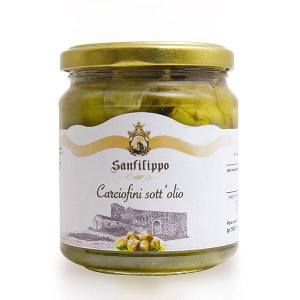 carciofini sott'olio sanfilippo