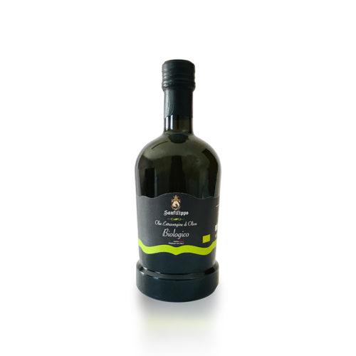 olio extravergine di oliva biologico 0,50