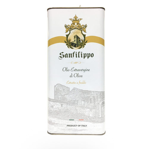 olio extravergine di oliva sanfilippo tanica 5 litri