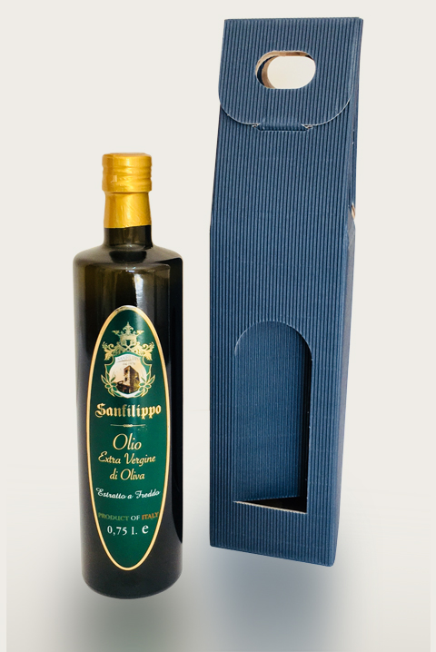 olio extravergine packaging singolo