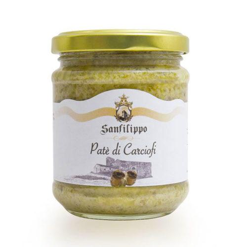 patè di carciofi sanfilippo