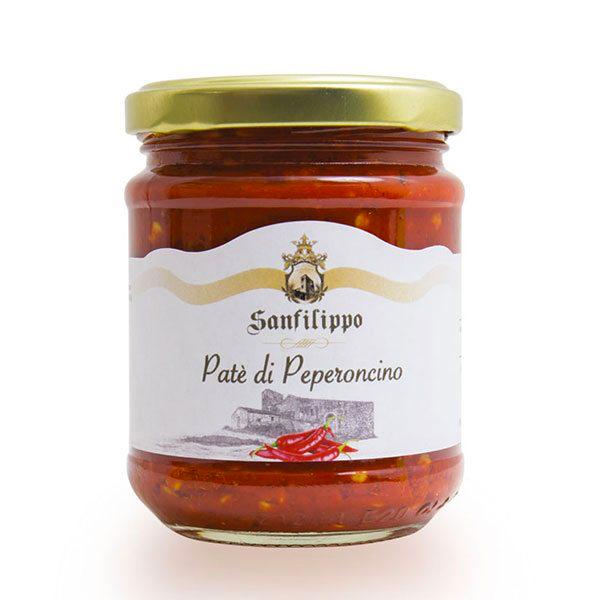 patè di peperoncini sanfilippo
