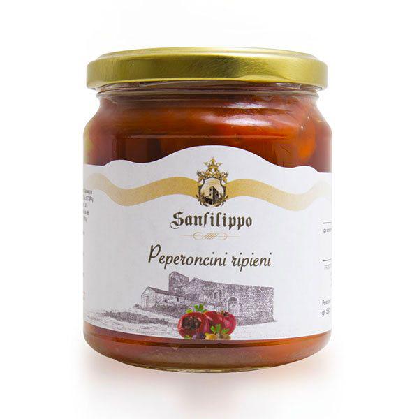 peperoncini ripieni sanfilippo