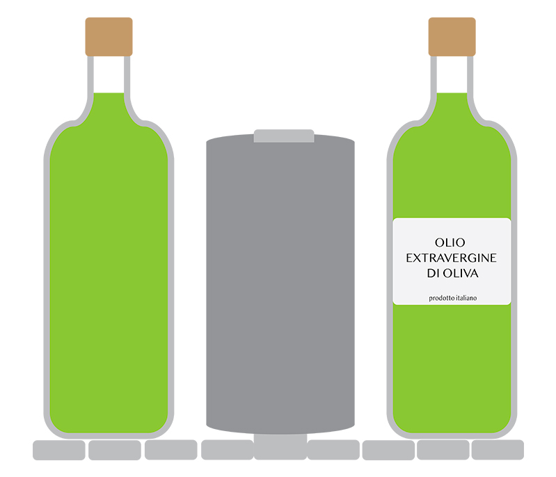 etichettatura olio conto terzi