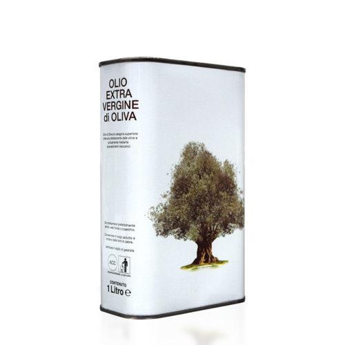 olio extravergine sanfilippo tanica latta 1 litro