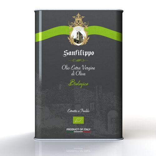 Olio extravergine di oliva biologico 3l