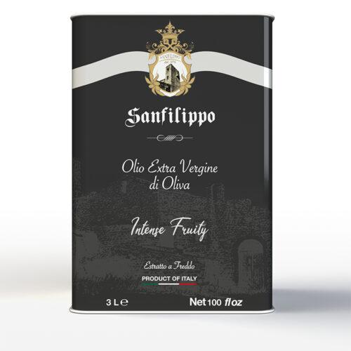 olio extravergine di oliva intense fruity 3 litri